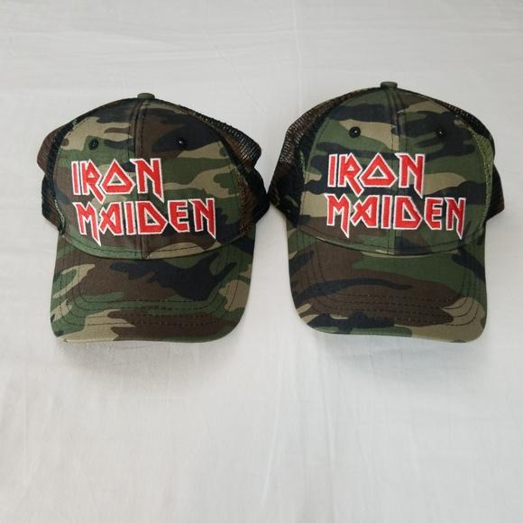 H3 Headwear Other - Iron Maiden Licensed Trucker Hat Cap Band Merch ef1cba60b0b